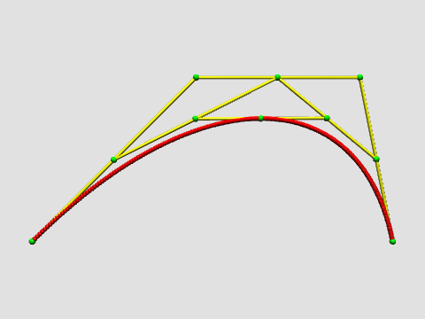 Lecture notes: 03 12 12 Bezier curves | Mathematical Visualization